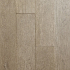 Timberclick Graphite Oak Wire Brushed Solid Hardwood