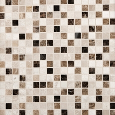 Super Mix Square Polished Marble Mosaic