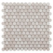 Gray Penny Porcelain Mosaic