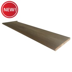 New! Left Hand Oak Single Return - 48 in.