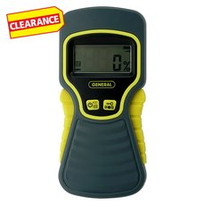 Clearance! General Tools Moisture Meter Pinless LCD
