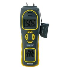 General Tools Moisture Meter 4-in-1 Pin with Pad