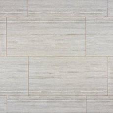 French Wood Gray Polished Porcelain Tile