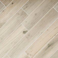 birch forest gray wood plank porcelain tile - Wood Look Floor Tiles