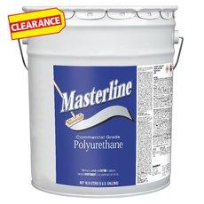 Clearance! Masterline Polyurethane Semi-Gloss Wood Finish 5 gallon