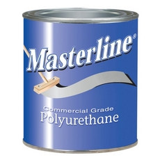 Masterline Polyurethane Semi-Gloss Wood Finish 1 quart