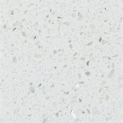 Bon Ready To Install Sparkling White Quartz Slab Includes Backsplash