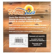 EasyHeat Warm Tiles 120V Mat Kit 41.33ft