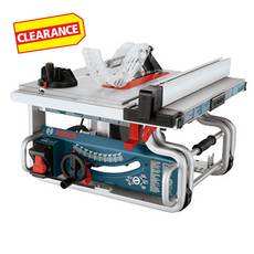 Clearance! Bosch 10in. Portable Table Saw