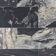 Nero Athens Vein Cut Brushed Granite Tile