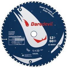 Daredevil 60-Tooth Table and Miter Fine Finish Saw Blade