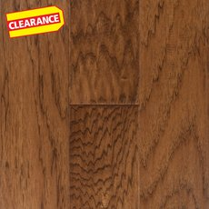 Clearance! Durham Hickory Hand Scraped Engineered Hardwood