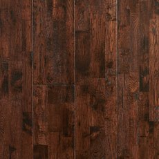 Vintage Oak Hand Scraped Solid Hardwood