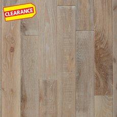 Clearance! Agate Oak Distressed Solid Hardwood