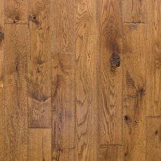 Honey Oak Hand Scraped Solid Hardwood
