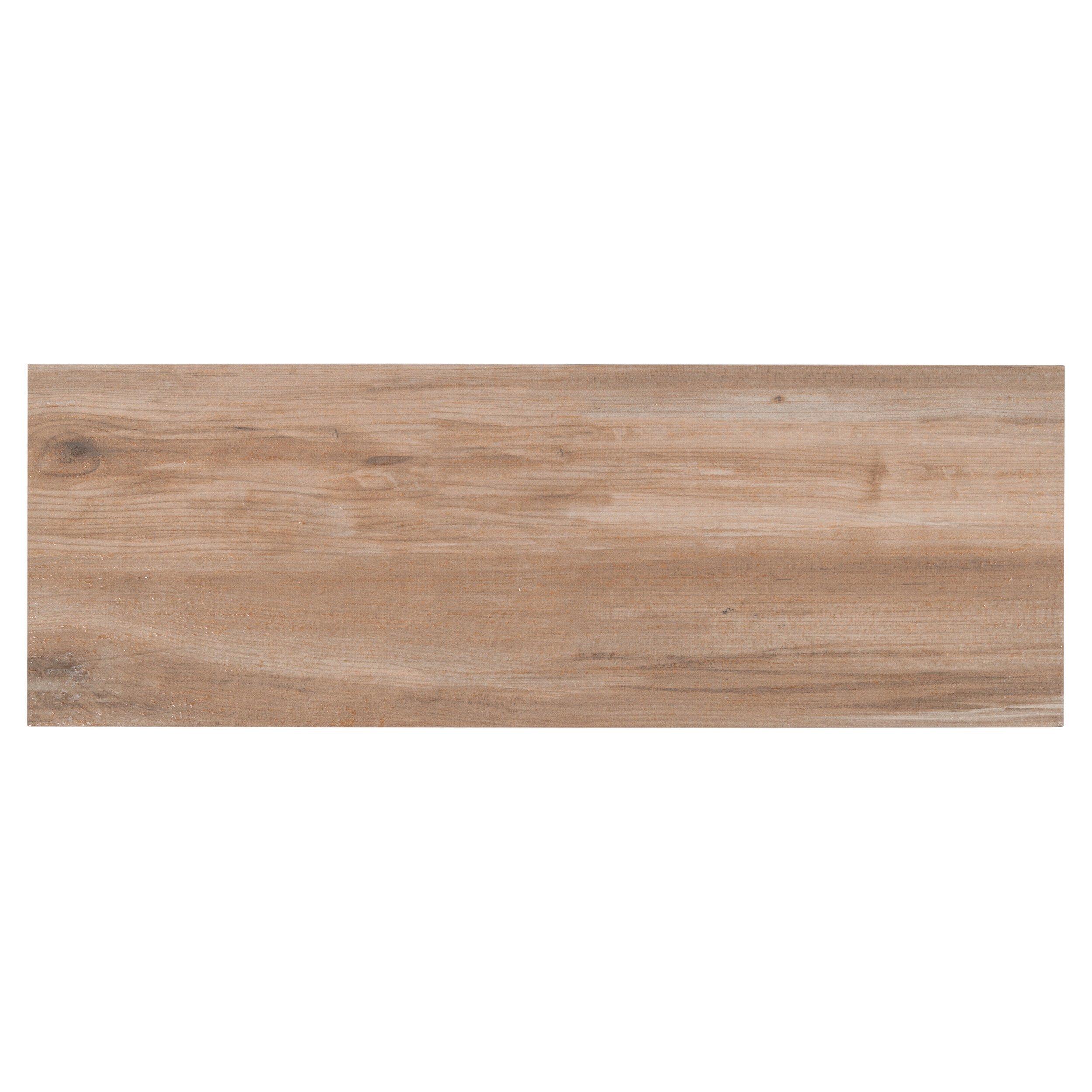 Brunswick Oak Wood Plank Ceramic Tile 7 X 24 100106897