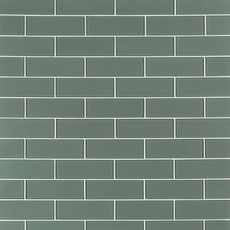 Pure Sage Glass Tile