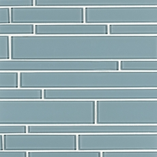 Spa Linear Glass Mosaic