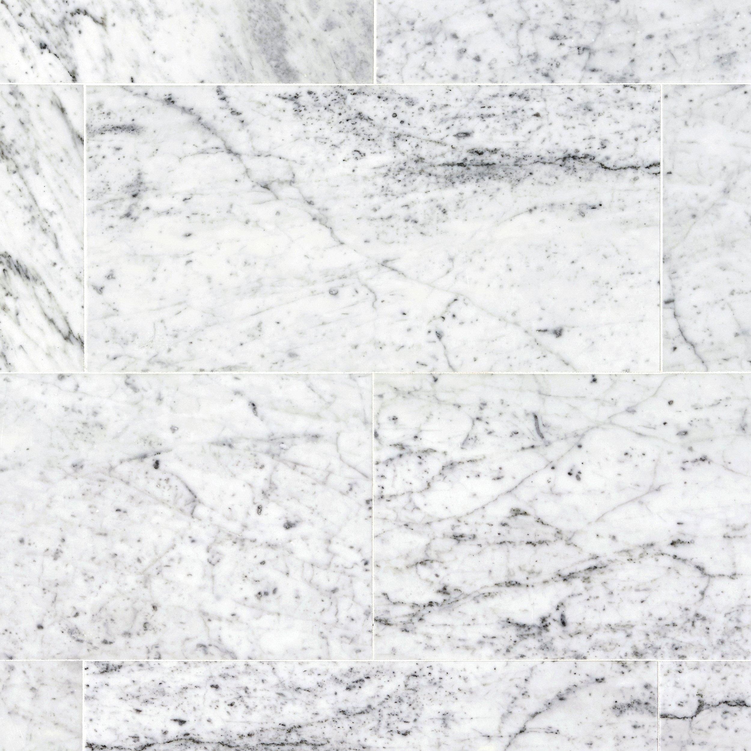 carrara marble tile. Bianco Carrara Marble Tile
