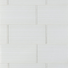 Dream Crystal White Ice Glass Tile