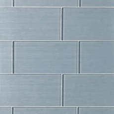 Icelandic Blue Ice Glass Tile