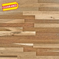 Clearance! Fumed Oak Butcher Block Island 6ft.