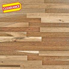 Clearance! Fumed Oak Butcher Block Backsplash 12ft.