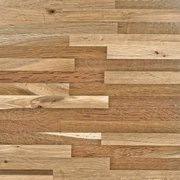 Fumed Oak Butcher Block Backsplash 12ft.