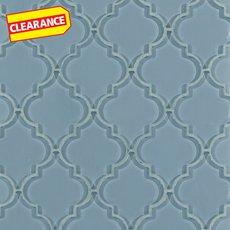 Clearance! Fleur Spa Arabesque Glass Mosaic