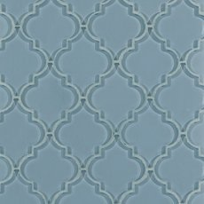 Fleur Spa Arabesque Glass Mosaic