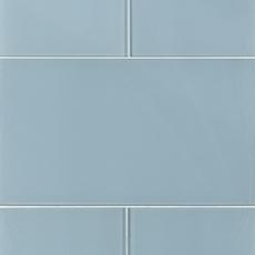 Pure Spa Blue Glass Tile