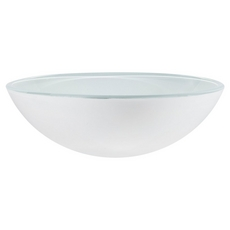 Pure Snow Glass Sink