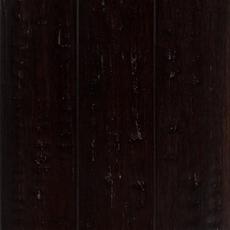 Titan Black Hand Scraped Locking Stranded Bamboo