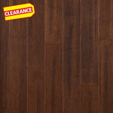 Clearance! Coffee Bean Locking Solid Stranded Bamboo
