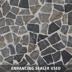 Solo River Gray Pebblestone Mosaic