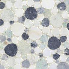 Coastal Marble Pebble Mosaic