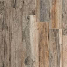 Soft Ash Wood Plank Porcelain Tile