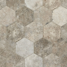 New York Soho Hexagon Porcelain Tile
