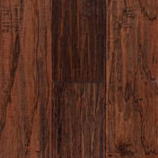 Saddle Hickory Hand Scraped Engineered Hardwood
