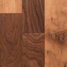 Walnut Hand Scraped Engineered Hardwood