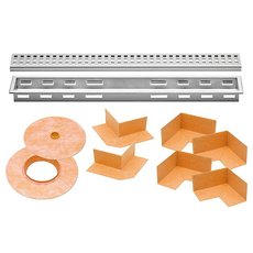 Schluter Kerdi-Line 1-1/8in. Frame 40in. Perforated Grate