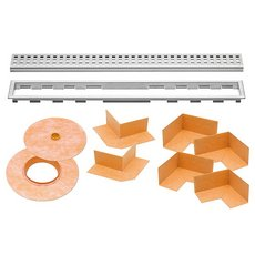 Schluter Kerdi-Line 3/4in. Frame 63in. Perforated Grate