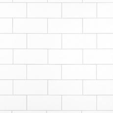 Bright White Ice Ceramic Wall Tile