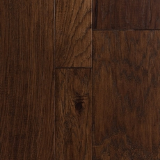 Canoe Hickory Hand Scraped Engineered Hardwood