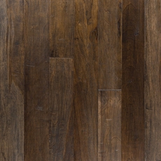 Coal Curitiba Hickory Hand Scraped Engineered Hardwood