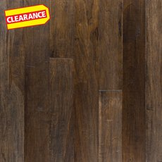 Clearance! Copaiba Coal Hand Scraped Engineered Hardwood