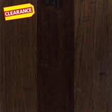 Clearance! Curitiba Hickory Saddle Hand Scraped Engineered Hardwood