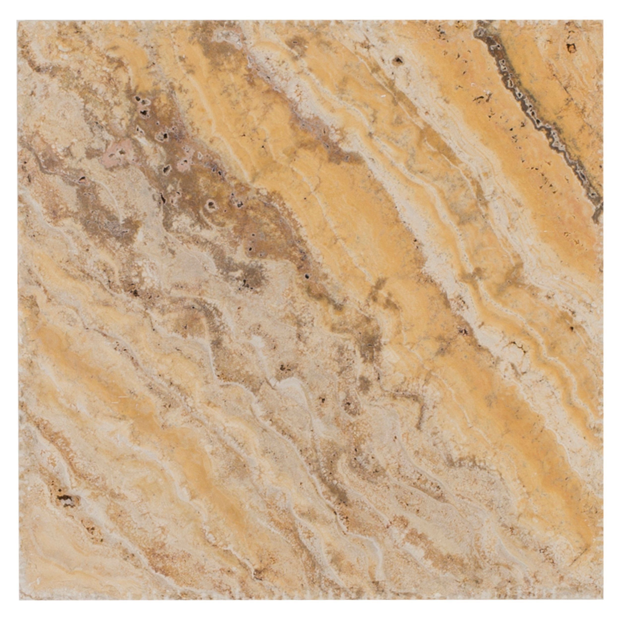 View details antique capri honed filled travertine tile · scabas brushed travertine tile