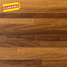 Clearance! Brazilian Teak Butcher Block Countertop 8ft.