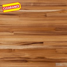 Clearance! Plantation Teak Butcher Block Countertop 8ft.